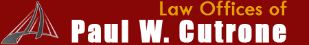Logo, Law Offices of Paul W. Cutrone - Personal Injury Attorney